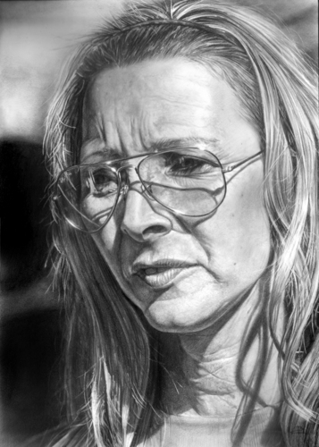 portrait of lisa kudrow - lisa-kudrow Fan Art
