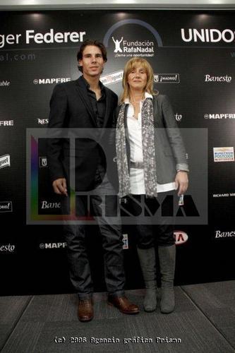 rafa and mother