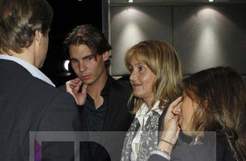 rafa and mother