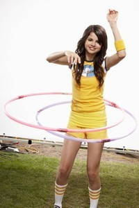 selena gomez in the Disney channel games...