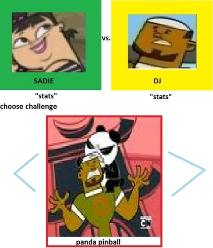 total drama the video game- choose your challenge