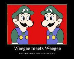 weegee meets one of his clones