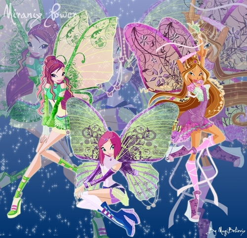 winx MIRANIX PART 1 AND 2