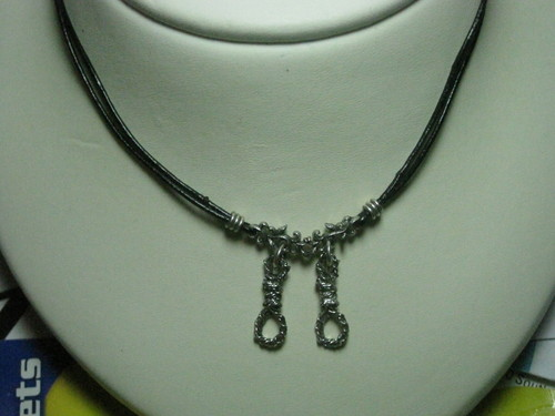 "A couple of necklaces inspired por ""The Hanging Tree"""