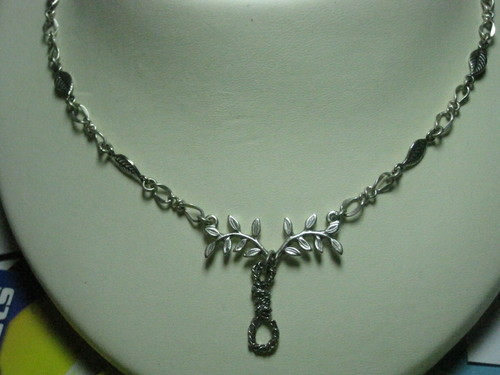 "A couple of necklaces inspired kwa ""The Hanging Tree"""