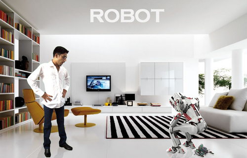 A spoof on Robot por Kartz
