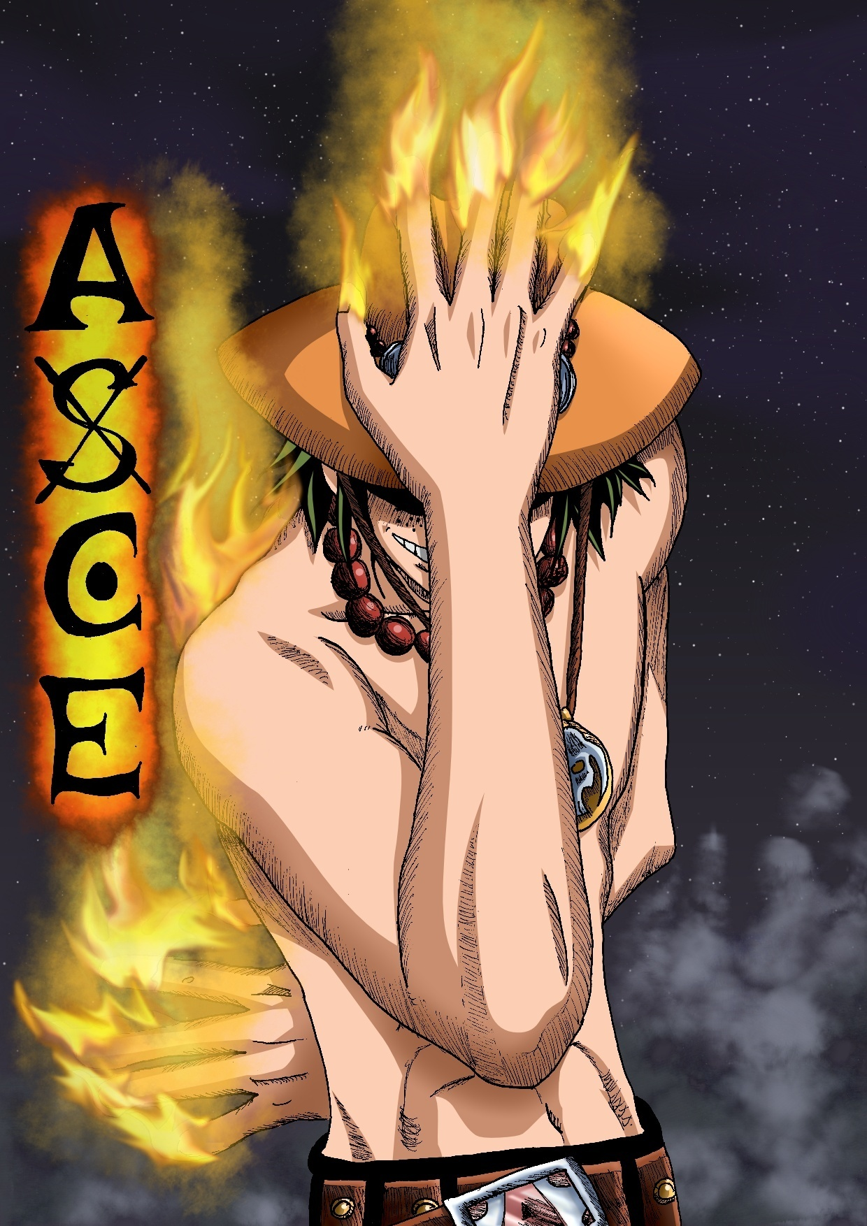One Piece Ace Ace - One Piece Photo ...