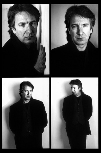 Alan Rickman karatasi la kupamba ukuta probably with a business suit entitled Alan :*