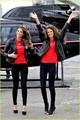 Alessandra Ambrosio & Lily Aldridge: Helicopter Arrival in Toronto!