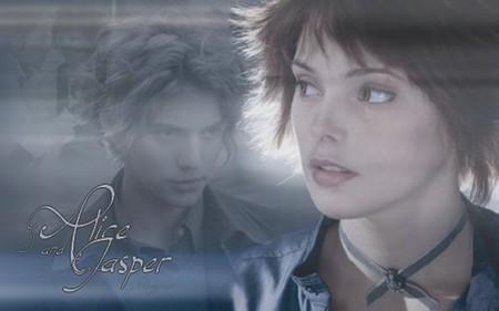 Alice and Jasper mga wolpeyper