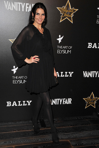 Angie @ Andaz Grand Opening/Vanity Fair Domino Benefit