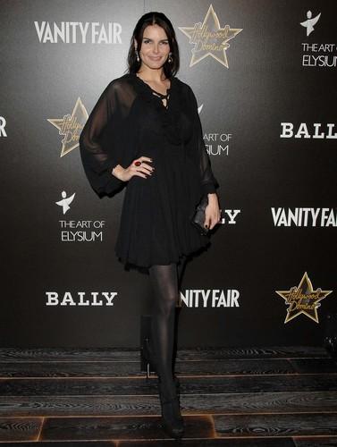 Angie @ Andaz Grand Opening/Vanity Fair Domino Benefit