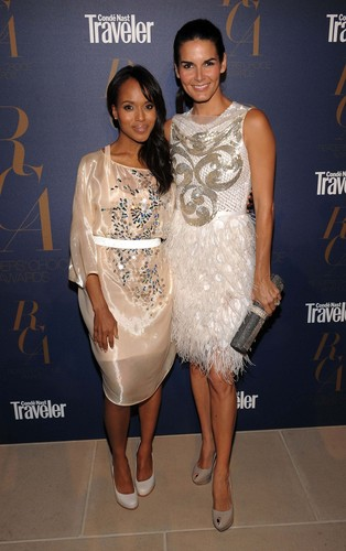 Angie @ Conde Nast Traveler Readers' Choice Awards - Arrivals
