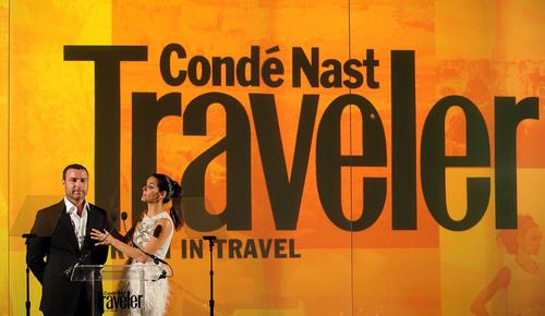 Angie @ Conde Nast Traveler Readers' Choice Awards - دکھائیں