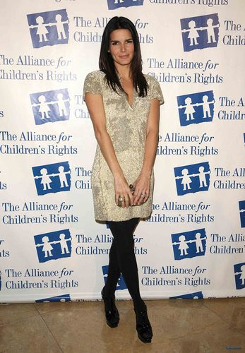 "Angie @ The Alliance For Children's Rights Honors ""Law & Order"" Cast"