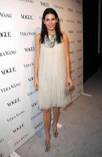 Angie @ Vera Wang Store Launch