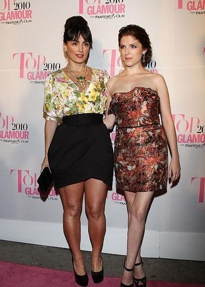 Anna Kendrick on hàng đầu, đầu trang Glamour Awards 2010 in Mexico-28.10.10