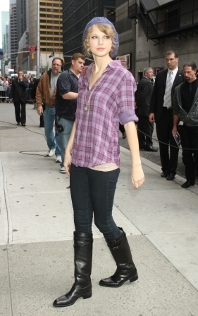 Arriving to Late Show with David Letterman