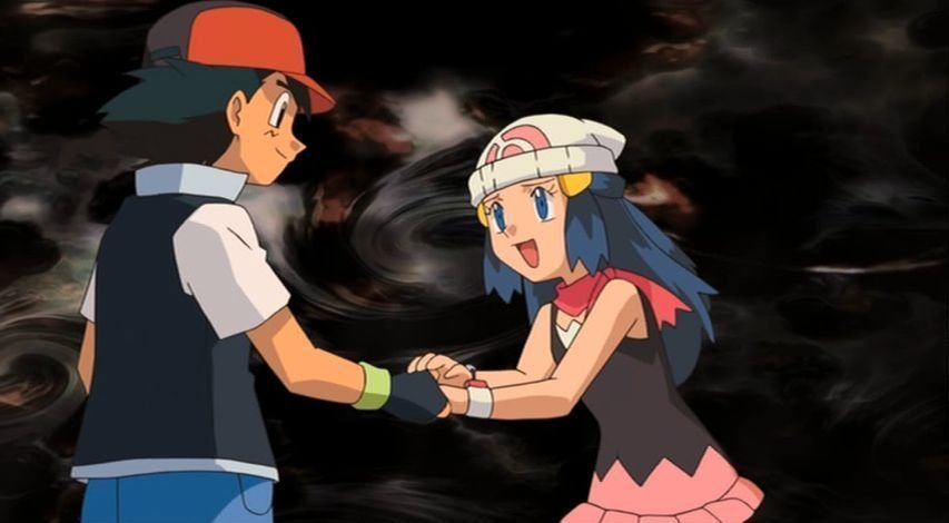 Ash Dawn Pokemon http://www.fanpop.com/clubs/pokemon-shipping/images/16506555/title/ash-dawn-photo