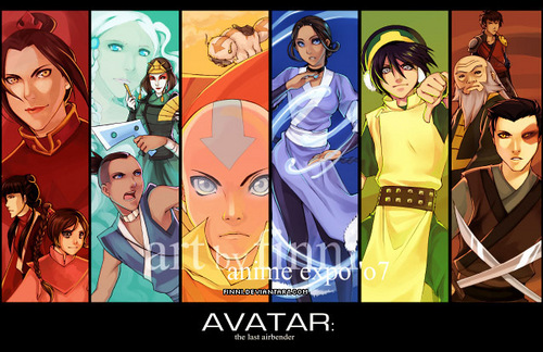 Avatar: The Last Airbender achtergrond with anime entitled Avatar people