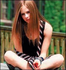 Avril rare pics