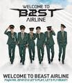 B2ST Concert poster!
