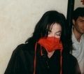 BEAUTY-red silk - michael-jackson photo