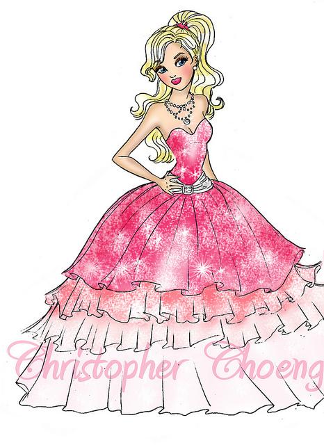 芭比娃娃 (fashion fairytale character)