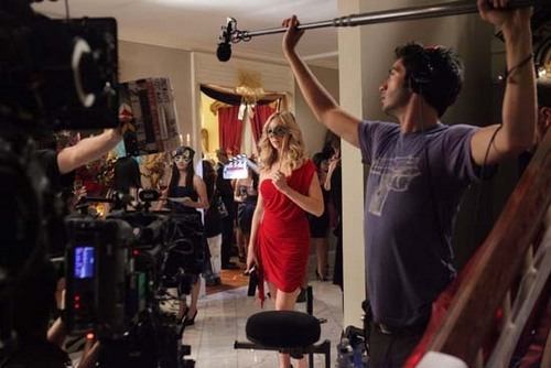 Behind The scenes of 2x07, Masquerade!