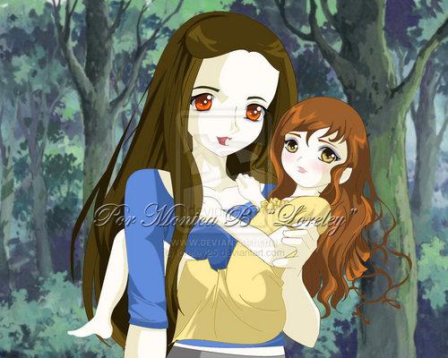 Bella & Renesmee ( Mutter & Tochter )