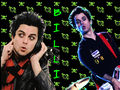 Billie Joe cutout wallpaper
