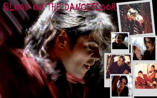 Blood On The Dancefloor Background! :D