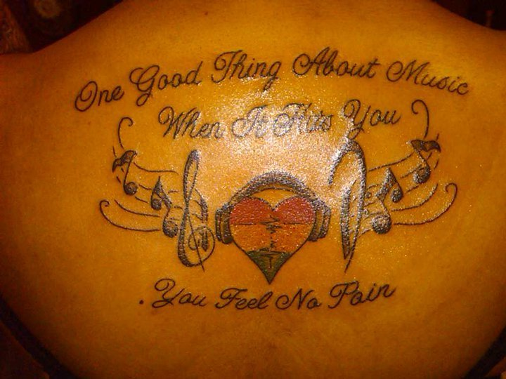 Bob Marley quote Tattoo