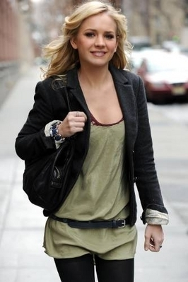 Brittany out in NYC