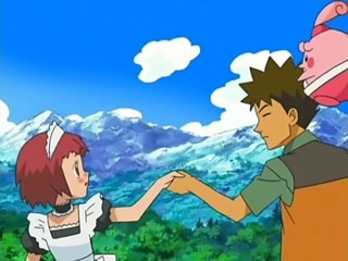 Brock with Autumn..