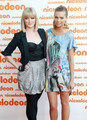 Cariba Heine and Indiana Evans U Kids Choice Awards (2010)  - cariba-heine photo