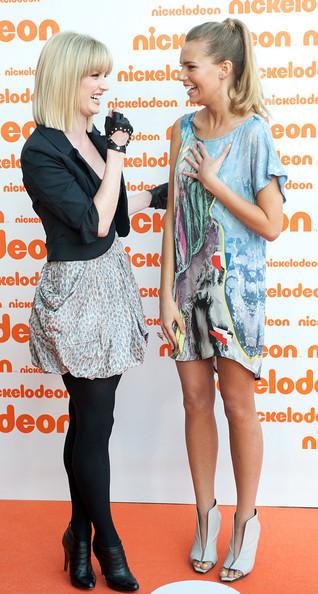 Cariba Heine and Indiana Evans U Kids Choice Awards (2010)  - cariba-heine photo
