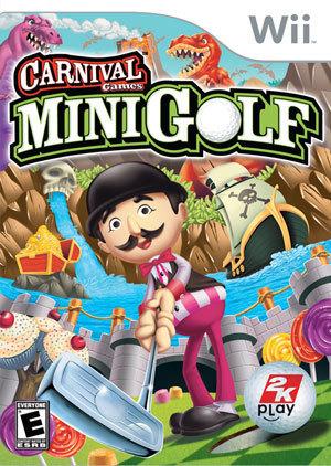 Carnival Games Mini Golf Cover