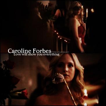 Caroline Forbes.