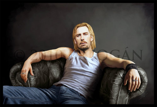 Chad Kroeger wallpaper containing a couch entitled Chad Kroeger