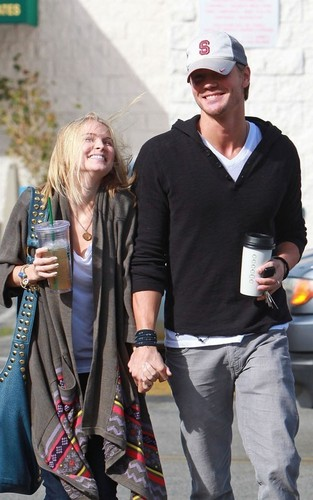 Chad Michael Murray and Kenzie Dalton: Coffee Shop Couple