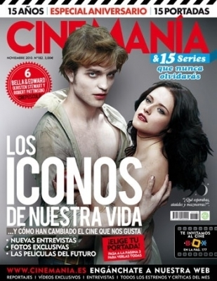 Cinemanía - Robert and Kristen (Nov/2010)
