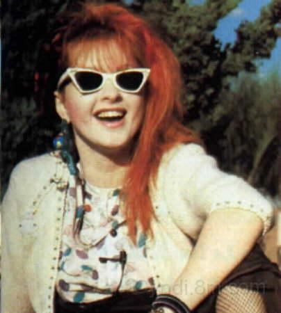 Cyndi Lauper achtergrond possibly containing sunglasses titled Cyndi <3