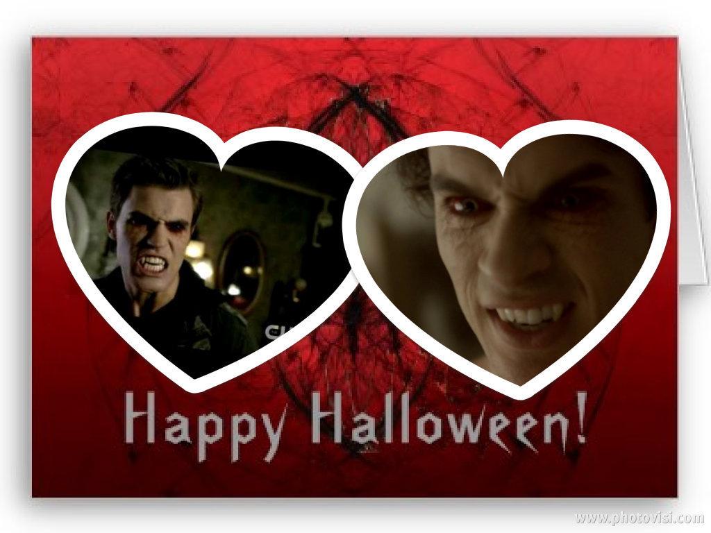 Damon & Stefan