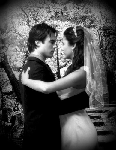 Damon and Elena's Wedding