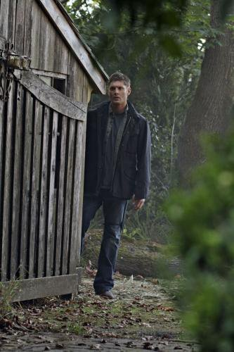 Winchester Girls Обои probably containing an outhouse and a кабина entitled Dean Winchester
