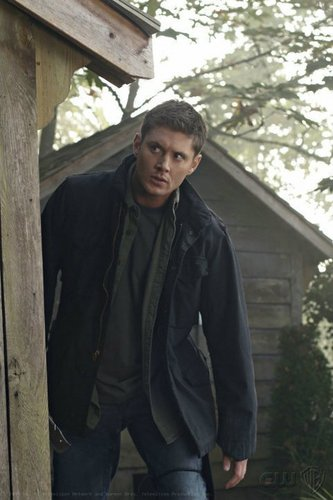 Winchester Girls wallpaper containing an outhouse, a granary, and a lychgate called Dean Winchester