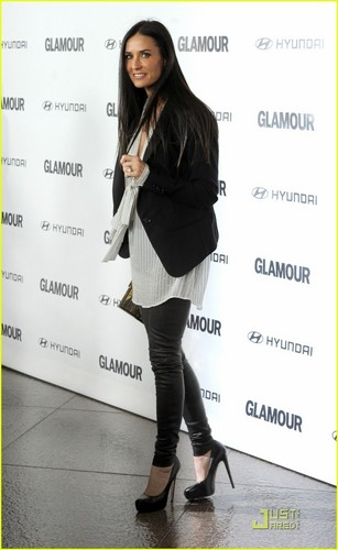 Demi Moore: &#39;Great Work&#39; at Glamour Reel Moments! - demi-moore Photo