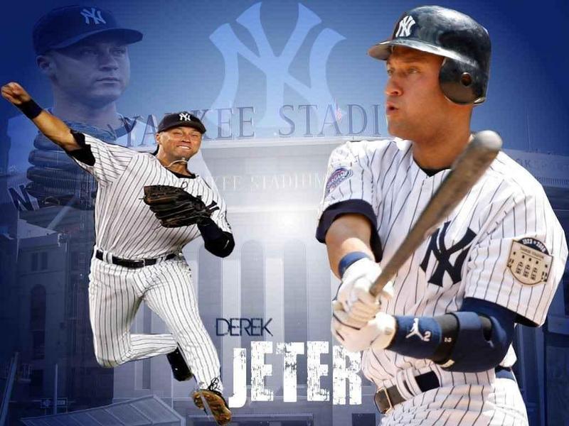 new york yankees wallpaper arod. Derek Jeter - New York Yankees