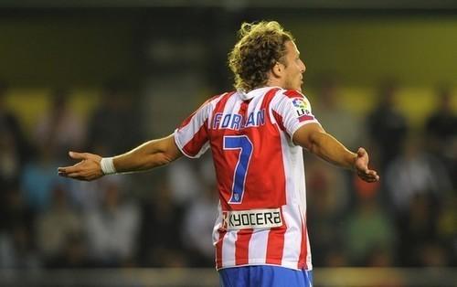 diego forlan 2011. Diego Forlan - Atletico Madrid